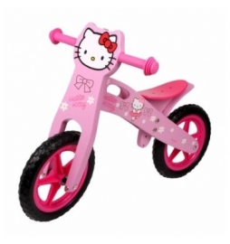 Hello Kitty Houten loopfiets