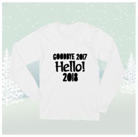Longsleeve Shirt Hello 2018