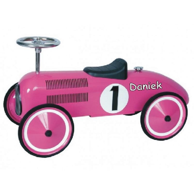 Loopauto met naam - Race auto Spitfire met naam