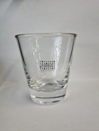 Design candlecup - Fidrio clear - glas, mondgeblazen - hoogte 11 cm --