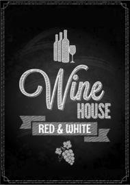 80 x 120 cm - Plexiglas schilderij - Wine House - fotokunst afbeelding op acryl