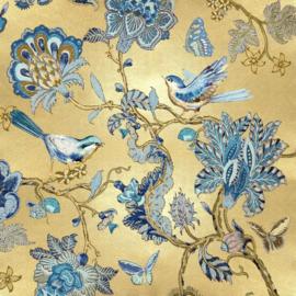 80 x 80 cm - Glasschilderij - schilderij - Bloemen print - UV geprint - foto print op glas