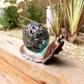 Tuinbeeld  - beeld solar slak