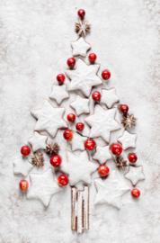 Foto op hout - Kerstboom
