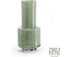 Design vaas Nuovo - Fidrio MOSS - glas, mondgeblazen bloemenvaas - diameter 14,5 cm hoogte 30 cm