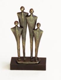 Bronzen beeldje - sculptuur - abstract - Vision - Martinique