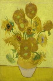 Foto op hout - Zonnebloemen - Van Gogh