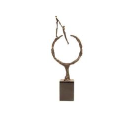 Beeld brons - sculptuur - figuur - surface - 30 cm hoog - Martinique