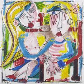 Olieverfschilderij - Moderne kunst