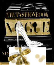 60 x 80 cm - Glasschilderij - schilderij - Vogue - foto print op glas