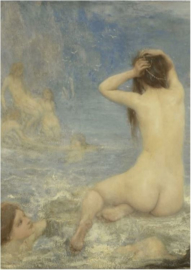 80 x 120 cm - Schilderij Dibond - Sirene