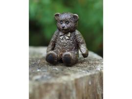 Tuinbeeld brons - Bronzen beeld - Knuffelbeer - Bronzartes