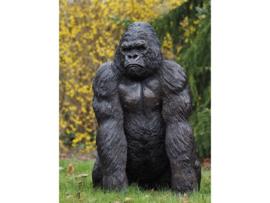 Tuinbeeld - groot bronzen beeld - King Kong - Bronzartes