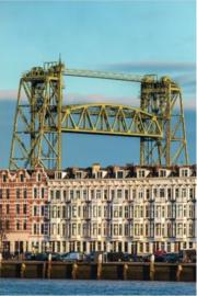 Schilderij Dibond - Rotterdam Brug