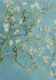 Schilderij Dibond - Amandelbloesem - Vincent van Gogh