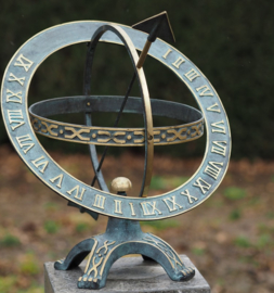 Zonnewijzer - bronzen wijzer - Sundir Ares