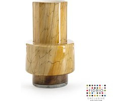 Design vaas Nuovo - Fidrio DESERT - glas, mondgeblazen bloemenvaas - diameter 10 cm hoogte 35 cm
