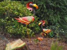Tuinbeeld - Metalen beeld Vogel