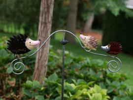 Metalen Tuinsteker - tuindecoratie - Egels