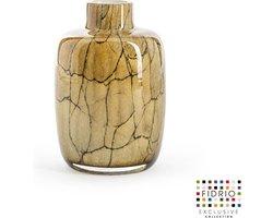 Design vaas Toronto - Fidrio DESERT - glas, mondgeblazen bloemenvaas - hoogte 15 cm