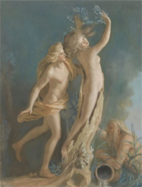 Schilderij Dibond - Apollo en Daphne