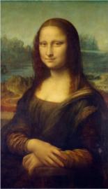 Schilderij Dibond - Foto op aluminium - Mona Lisa