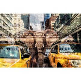 120 x 80 cm - Schilderij Dibond - Foto op aluminium - New York - fotokunst - Mondiart