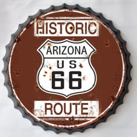 Wanddecoratie - Route 66