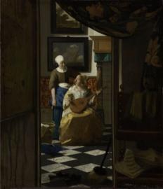 Schilderij Dibond - De Liefdesbrief