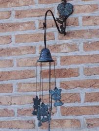 Windgong - windklokken - bronzen elfjes