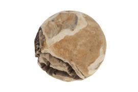 Houten kunst - Beeld - sculptuur - houten bal