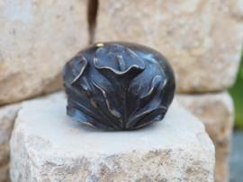 Urn - brons - Aronskelken - Bronzartes - 4 cm hoog --