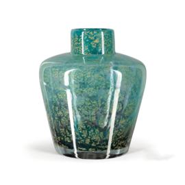 Design vaas Fidrio - glazen sculptuur - Fiji -  Icon - glas - mondgeblazen - 25 cm hoog