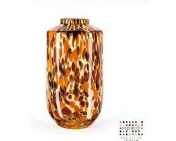 Design vaas Nova - Fidrio Havanna - Bloemenvaas glas, mondgeblazen - hoogte 32 cm