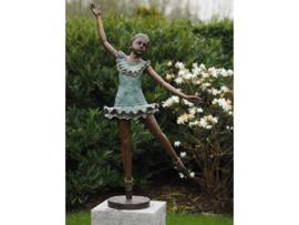 Tuinbeeld - groot bronzen beeld - Ballerina - Bronzartes
