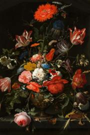 80x120cm - Glasschilderij - schilderij fotokunst -  bloemen - foto print op glas
