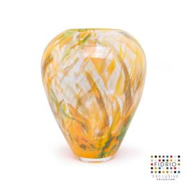 Design vaas Fidrio - glas kunst sculptuur - Botanic - Alore XL - mondgeblazen - 33 cm hoog --