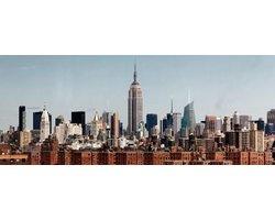 200 x 80 cm - Glasschilderij - Midtown New York - schilderij fotokunst - foto print op glas