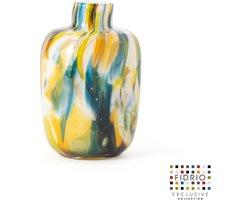 Design vaas Toronto - Fidrio COLORI - glas, mondgeblazen - hoogte 15 cm --