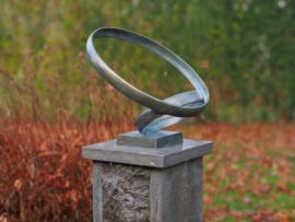 Tuinbeeld - bronzen beeld - Modern sculptuur 'Together' - Bronzartes - 30 cm hoog