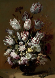 80 x 120 cm - Schilderij Dibond -Bloemen