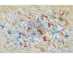 120 x 80 cm - Olieverfschilderij - Abstract - canvas - handgeschilderd