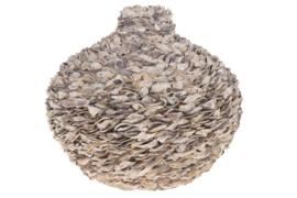 Talaba vaas - schelpen - naturel