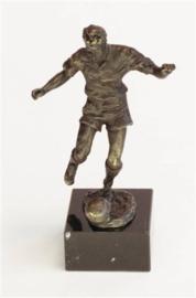 bronzen beeldje - sculptuur - sport - voetbal - Martinique