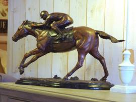 Beeld brons Paardrijden - Bronzartes