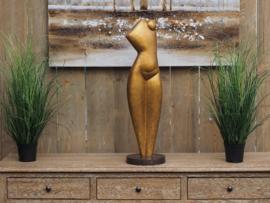Bronzen beeld - Tuinbeeld - beeld  - vrouwelijk lichaam - Bronzartes - 70 cm hoog - voor huis en tuin
