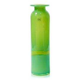 Design vaas Fidrio - glas kunst sculptuur - riga - Verde - mondgeblazen - 50 cm hoog