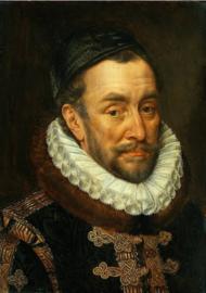 Schilderij Dibond - Willem van Oranje