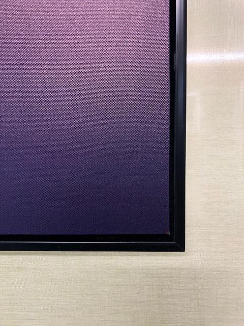 70 x 50 cm - Canvas schilderij met lijst - schotse hooglander - foto op canvas
