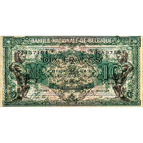 Schilderij Dibond - Biljet 20 frank
